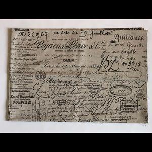 """BALLARD DESIGNS DOCUMENT BROWN FABRIC. 60""""L x 55""""W"""